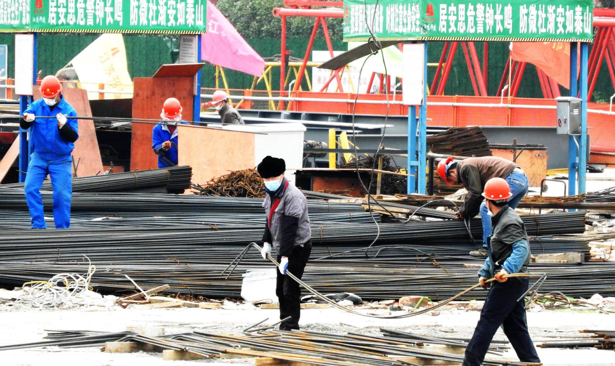 中国大运河博物馆复工建设 开启上部钢结构安装模式